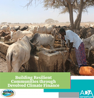 Building Resilient Communities through Devolved Climate Finance