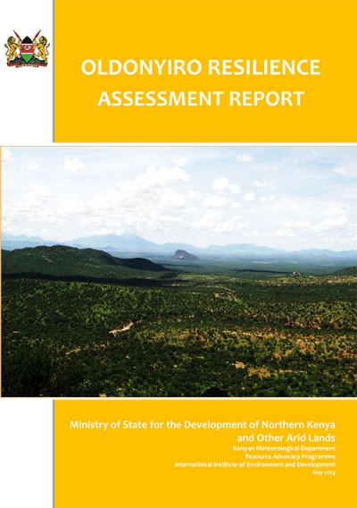 Oldonyiro Resilience Assessment Report