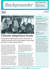 Climate Adaptation Fund