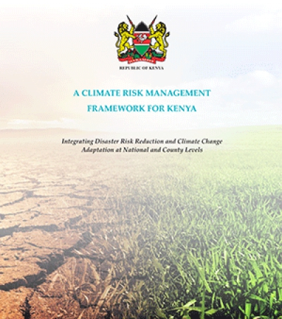 A climate risk management framework for Kenya: Integrating disaster risk reduction and climate change adaptation at national and county levels.
