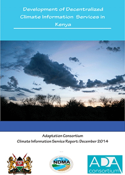 Development of Kenya's Decentralised Climate Service